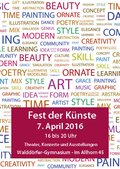 Fest der Künste 2016