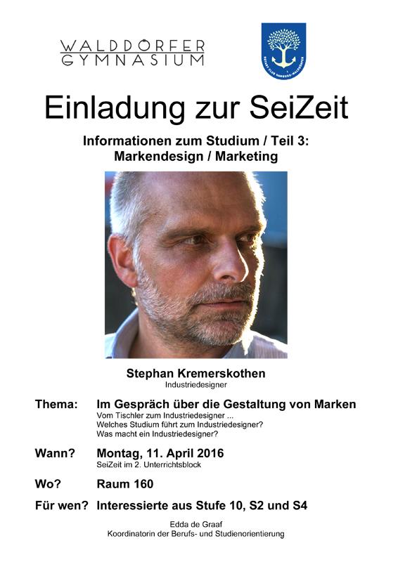Einladung zur SeiZeit 11.04.2016